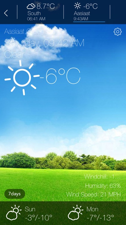 HD Weather - Animated screenshot-1