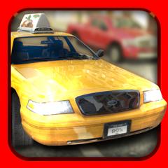 Taxi Racer . Jeu de Course de Voitures de Taxi Gratuit pour Enfants