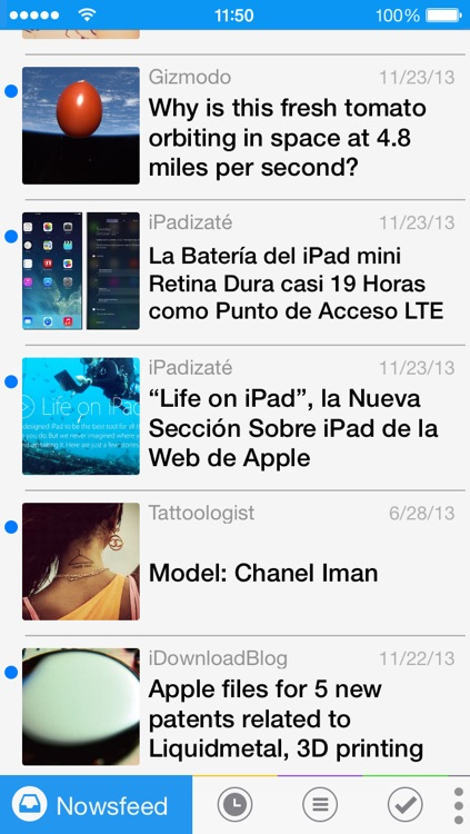 Nowsfeed screenshot-0