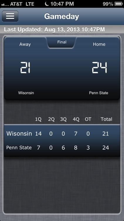 Penn State Football Live screenshot-4