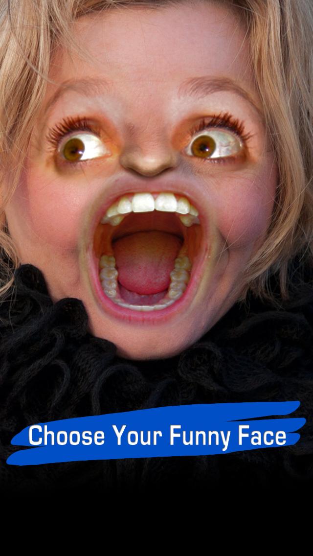 Funny Face Booth Free - The Super Fun Camera Joke Party Bomb Picture Effects Photo EditorCaptura de pantalla de1
