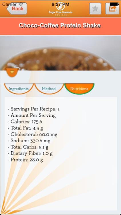 Protein Shake Fitness Recipes screenshot-3