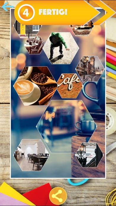 Scrapbook Creator - automatische Foto-CollageScreenshot von 5