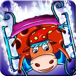 Animal Ski Race - Snowboard Safari Stunt On Ice Tracks (Free Game)