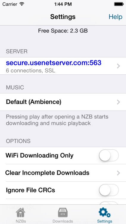 NZB for iOS