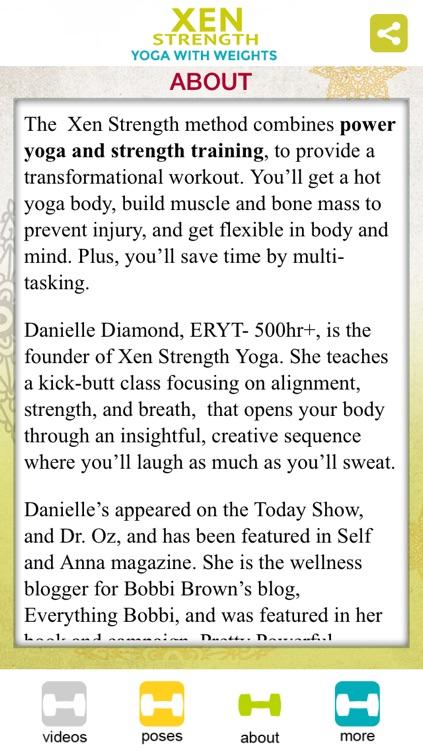 Xen Strength - Yoga with Weights screenshot-4