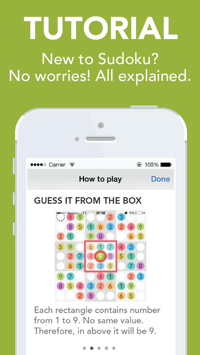 Sudoku : Number Place screenshot three