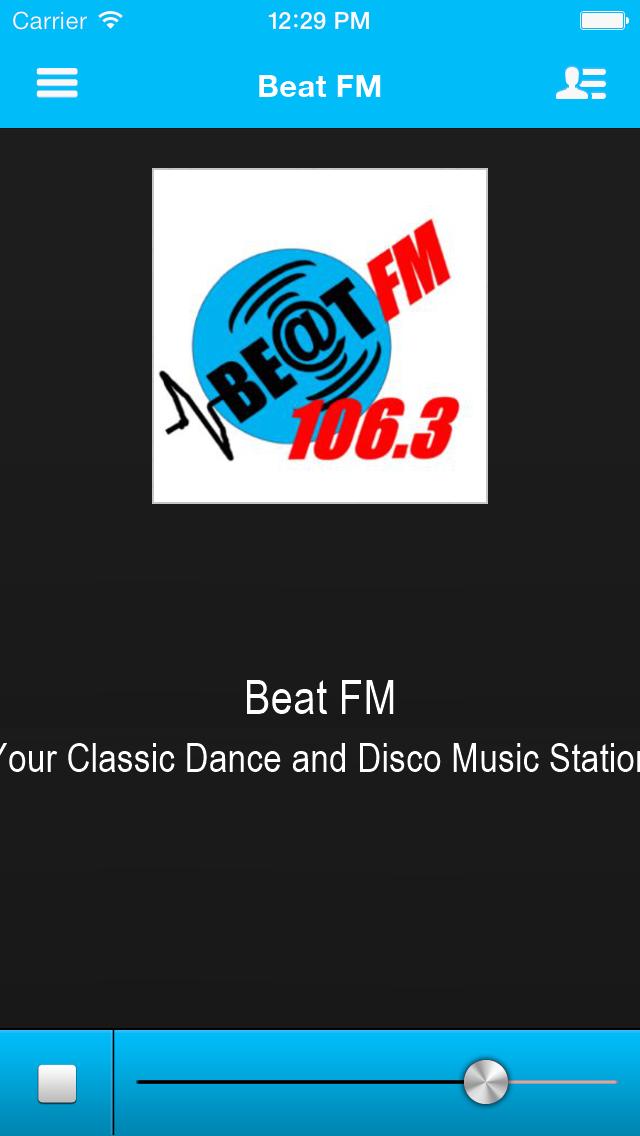 Beat FM 106.3 screenshot one