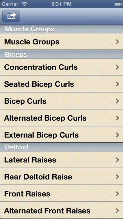 Dumbbell Exercises screenshot-3