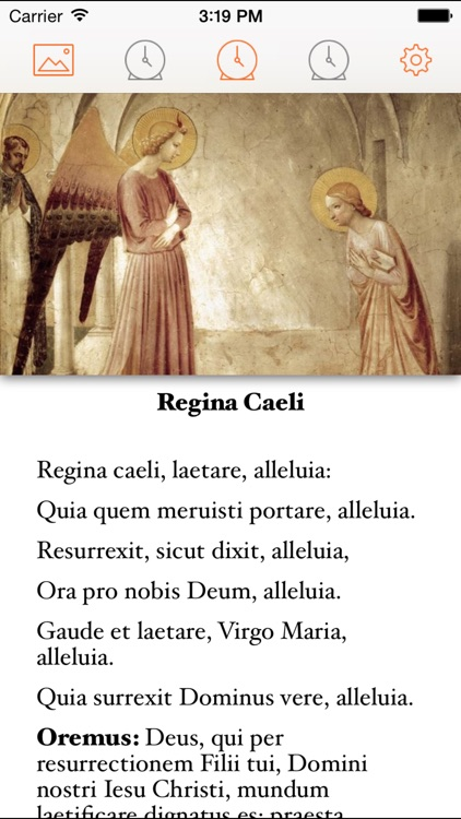 Pocket Angelus – The Angelus and Regina Caeli with daily alarms
