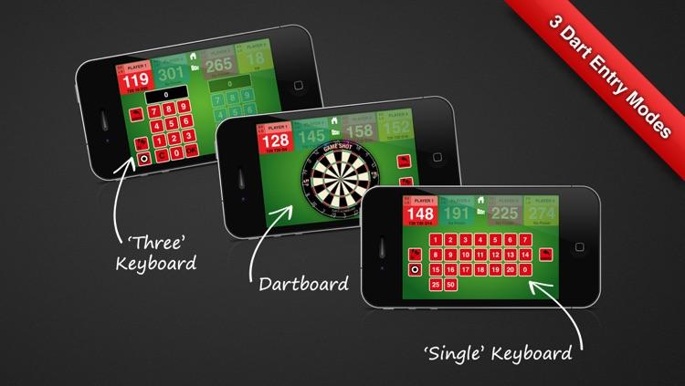 Game Shot Darts Scoreboard