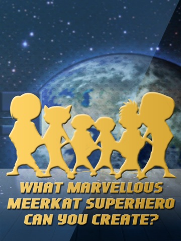 Screenshot #2 for Marvellous Meerkat Maker - Superhero builder and Creator