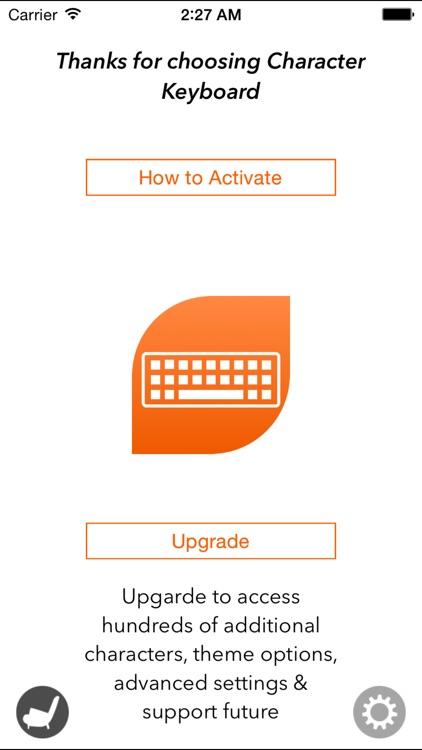 Character Keyboard – Symbol & Special Character Keyboard screenshot-3