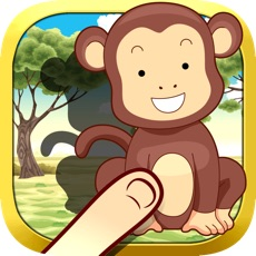 Activities of Animals Around The Equator - Beautiful free puzzle game for toddlers and kids