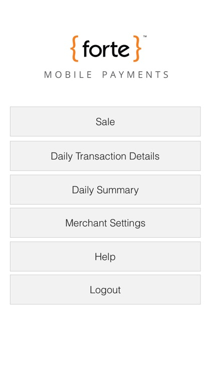Forte Mobile Payments