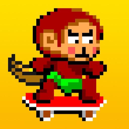 Skater Monkey - No Flappy No Bird icon