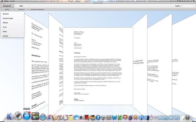 Vorlagen Für Pages Im Mac App Store