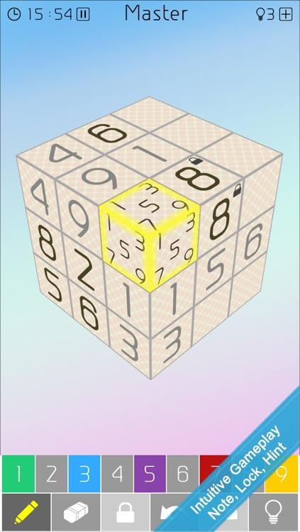 Cube Mix: 3D Sudoku Twist screenshot-4