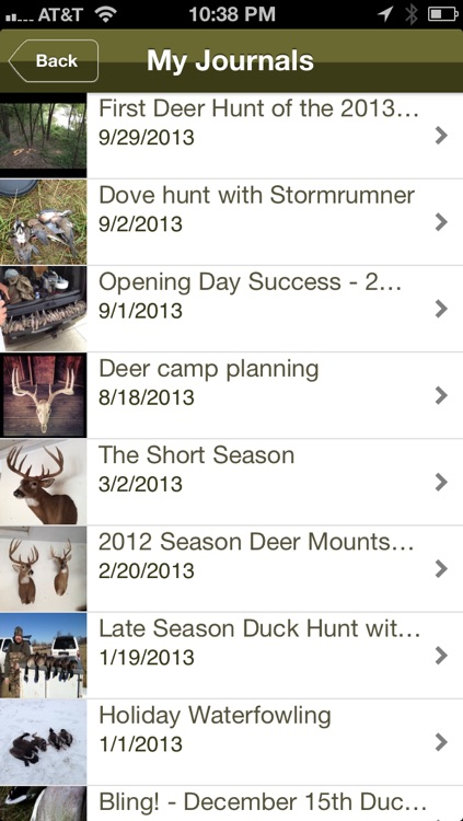 Hunting Journal Pro screenshot-3
