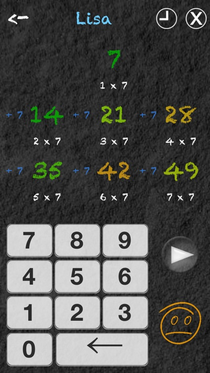Multiply Me - Multiplication Tables Trainer screenshot-4