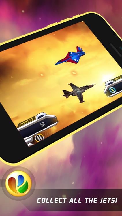 Aerial Dogfight War - Free World War Game screenshot-3