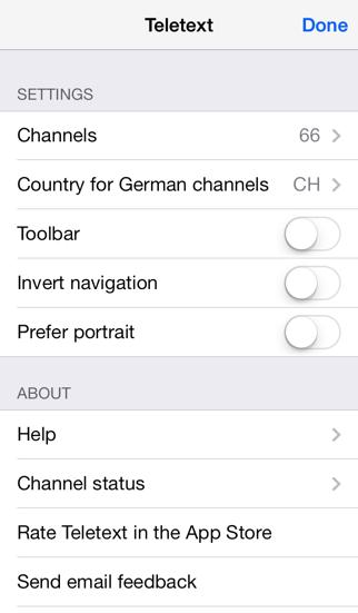 Teletext - TextTV screenshot1