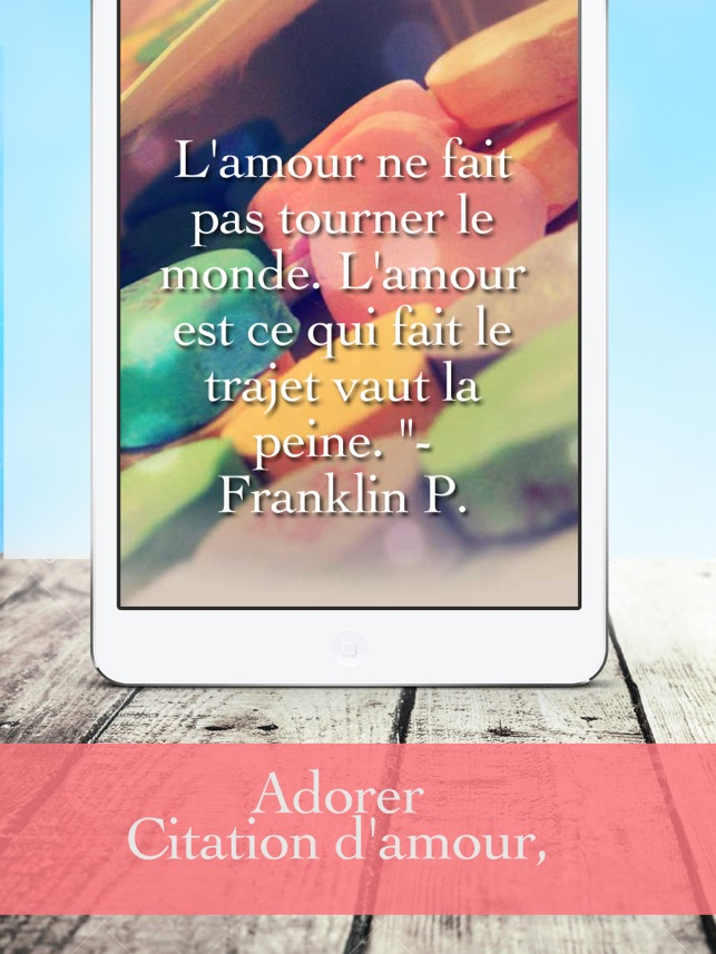 Amour Poeme Citation Dans L App Store