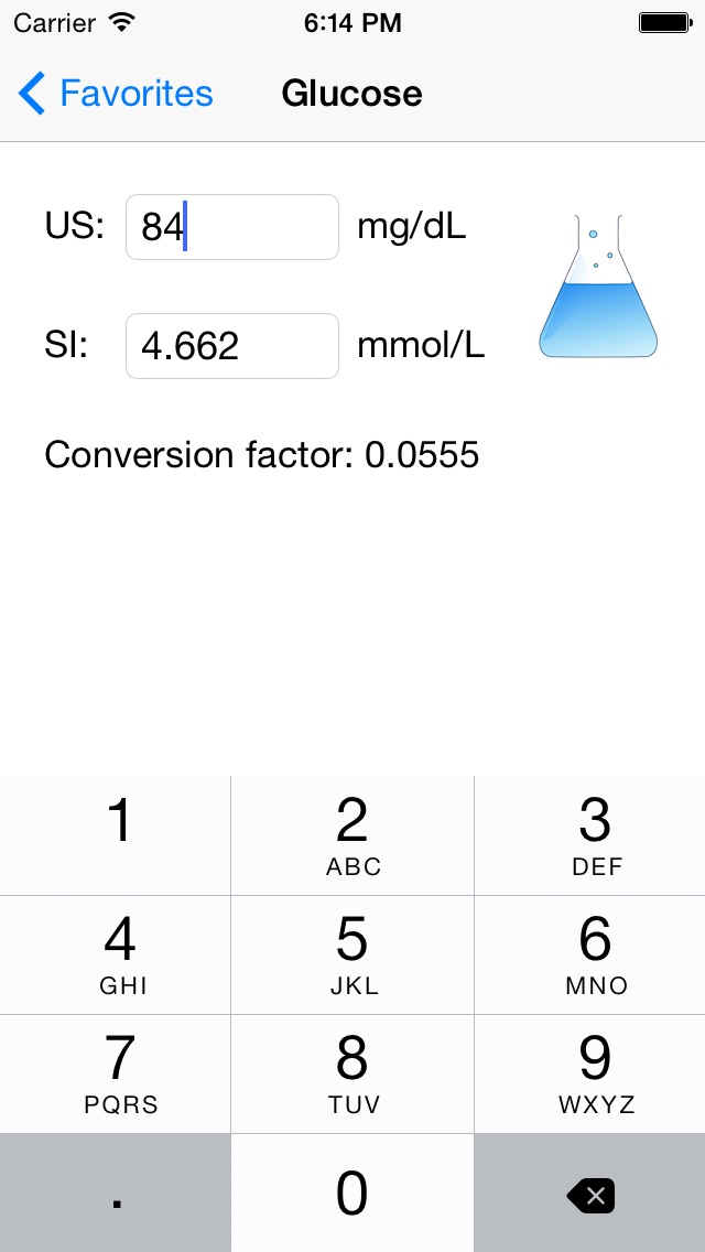 Lab Unit Converter Screenshot 1