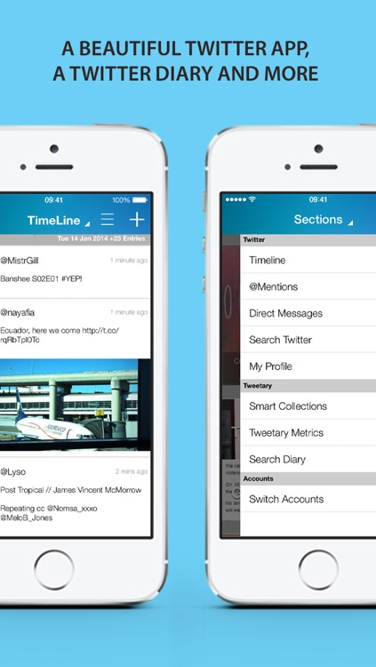 tweetary for Twitter (iPhone & iPod touch)