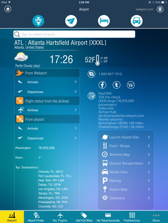 Air Travel Pro HD- Flight Tracker (all airports)