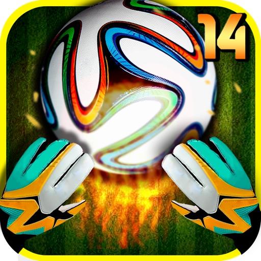 Вратарь футбол 14 – сохранить целей & играть фэнтези Чемпионат мира по футбол