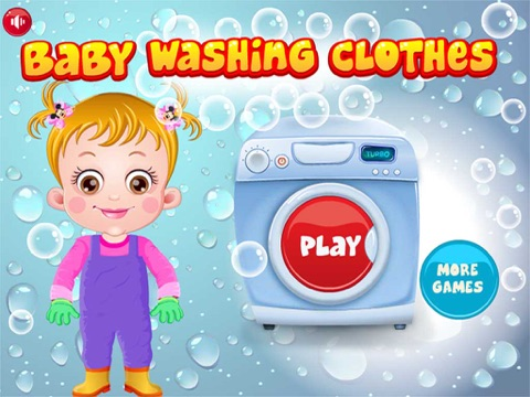 Baby Learn Washing Clothes-ipad-0