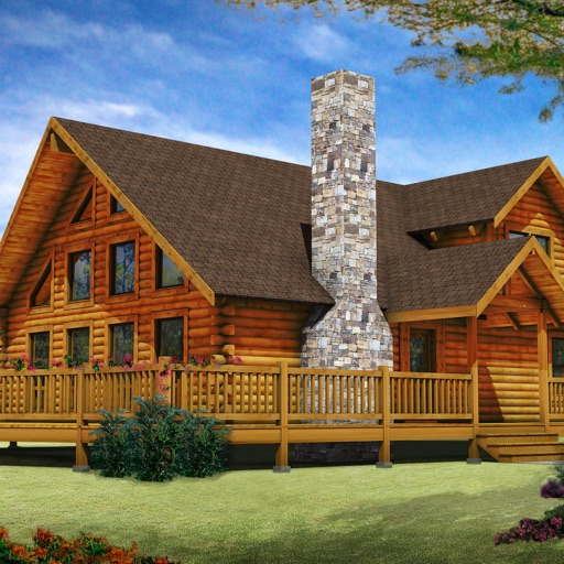 Log House Plans icon