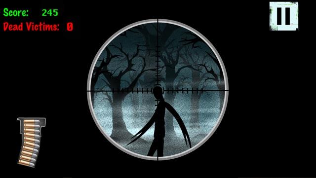 A Fun Slender-man Sniper Gore Kill Game By Scary Halloween Shooting & Killing Slender Man For Teen Boys And Kids Games Free Screenshot