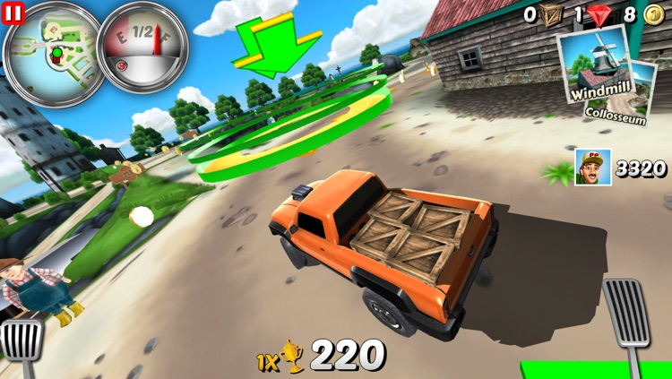 Parcel Panic 2 - Post Car Racing screenshot-3