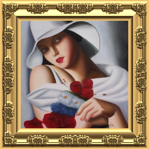 Oil Painting Portrait icon