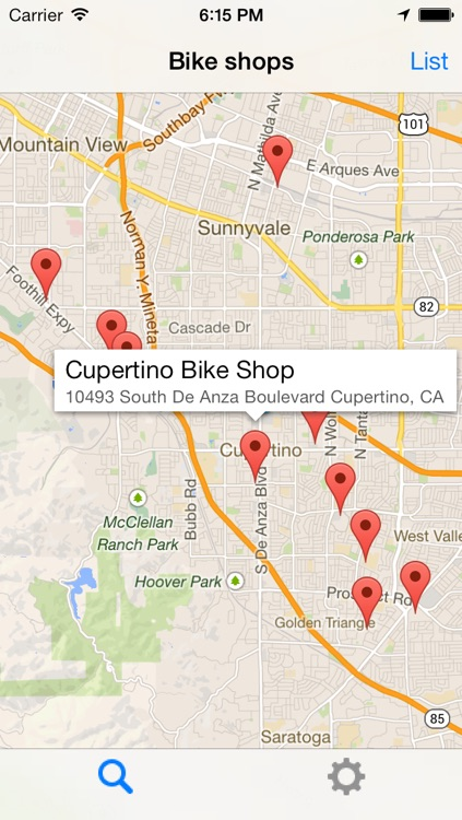 Bike Shops North America