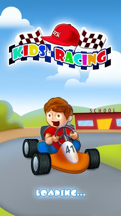 Free Kids Racing Game screenshot-4