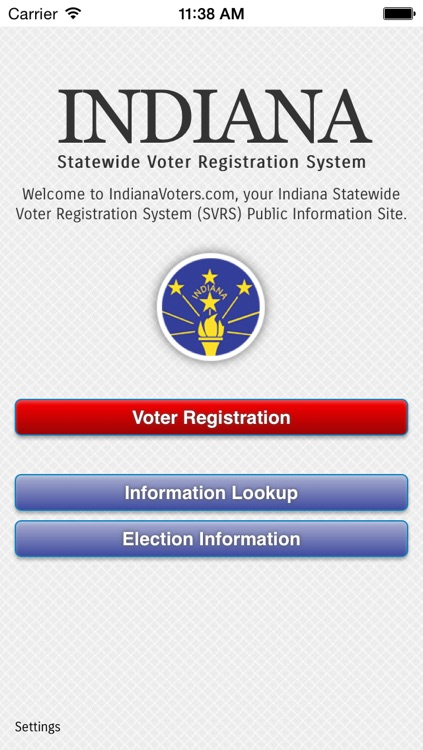 Indiana Voters screenshot-0