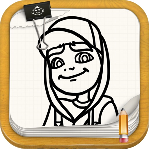 Learn To Draw : Subway Surfers Edition