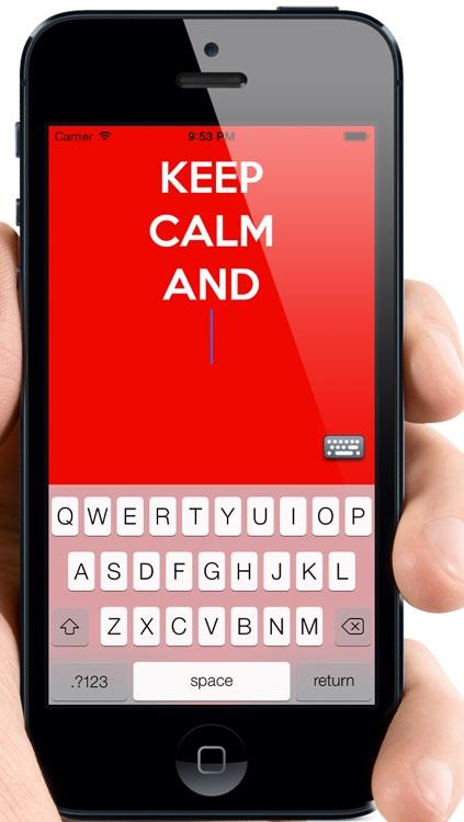 Keep Calm Creator™