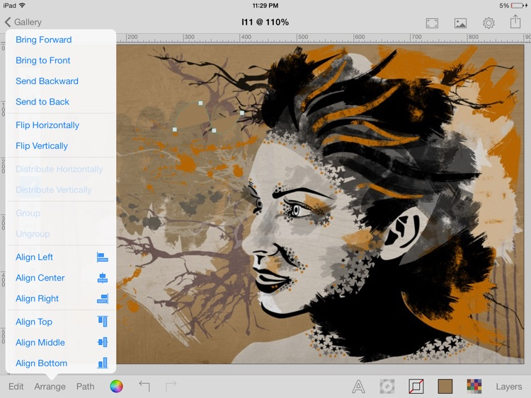 Inkbot - Inspiring Vector Graphics Editor screenshot-1
