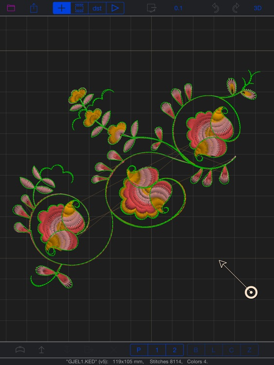 GR5 Embroidery Designer screenshot-1