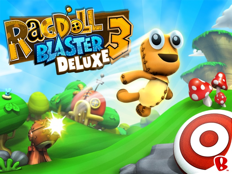 Ragdoll Blaster 3: Deluxe HD screenshot-0
