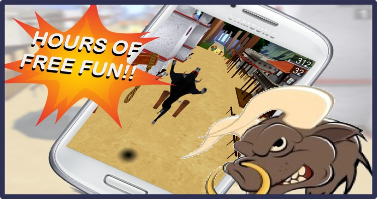 Stampede 3D: Running with Bulls