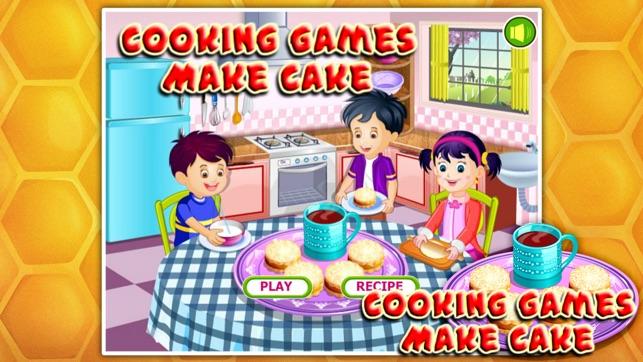 cooking games make cake をapp storeで