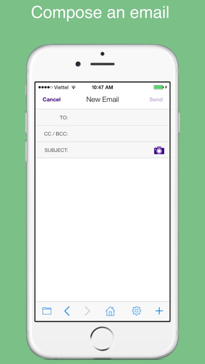 Safe web for Yahoo: secure and easy email mobile app with passcode. screenshot-4