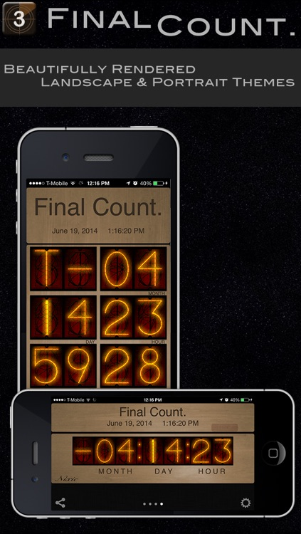 Final Count.  Your Event Countdown Timer
