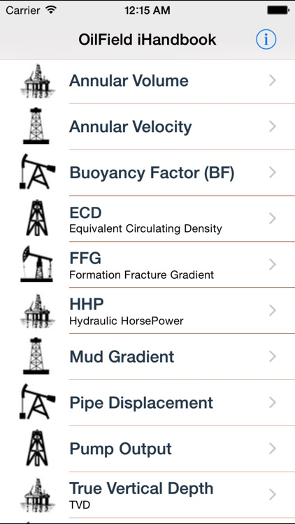 OilField iHandbook screenshot-0