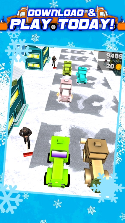 3D Snowplow City Racing and Driving Game with Speed Simulation by Best Games FREE screenshot-4